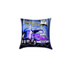 King Of The Roads Glow In The Dark Pillow
