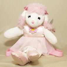 Pink Poodle Back Pack