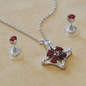 Love Clover Reversible Jewel Set