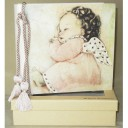 Angel Baby Terra Traditions Photo Album with Swarovski Crystals