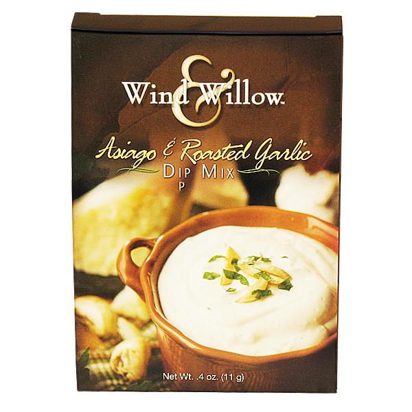 Roasted Garlic Dip Mix and Asiago