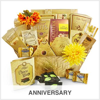 Anniversary Gourmet Gift Basket Store