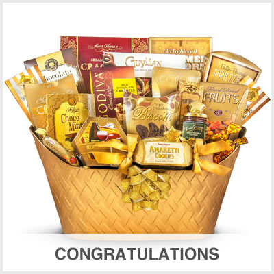 Congratulations Gourmet Gift Basket Store