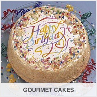 Gourmet Cakes Gift Basket Store