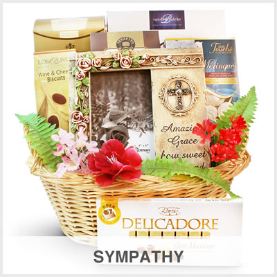 Sympathy Gourmet Gift Basket Store