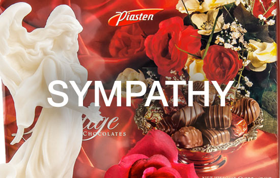 Sympathy Gift Baskets - Gourmet Gift Basket Store, chocolates, cookies, cheeses, sausages, serve delectable snacks .