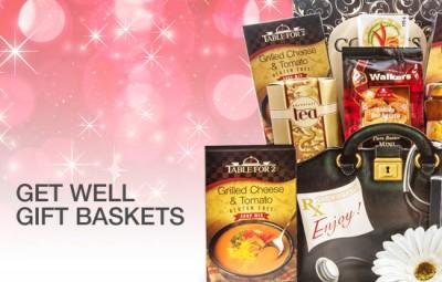 Get Well Gift Baskets - Gourmet Gift Basket Store