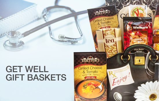 Get Well Gift Baskets - Gourmet Gift Basket Store
