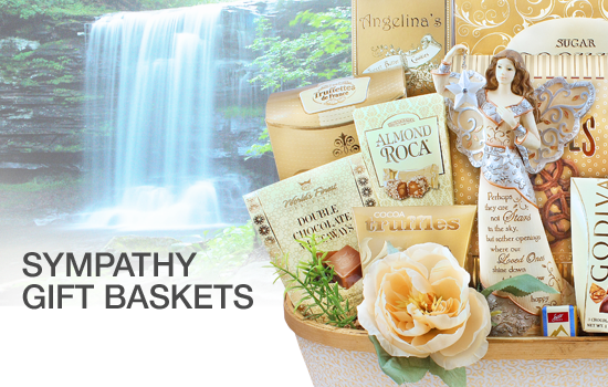Sympathy Gift Baskets - Gourmet Gift Basket Store