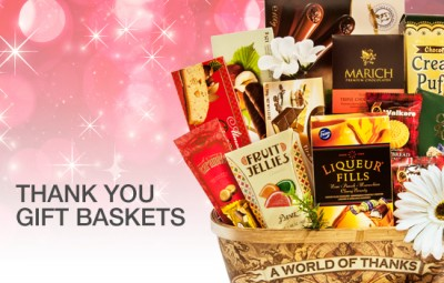 Thank You Gift Baskets - Gourmet Gift Basket Store