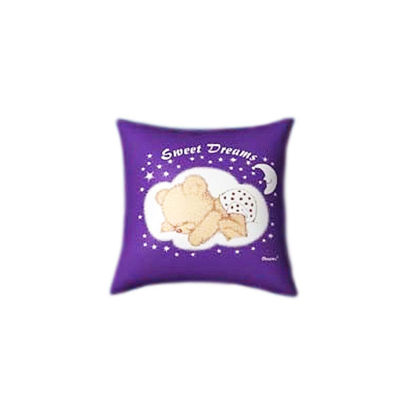 Sweet Dreams with baby Teddy Glow In The Dark Pillow