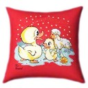 Ducks and Sheeps Glow In The Dark Pillow