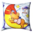 Sleeping Teddy Glow In The Dark Pillow