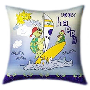 Sailing Turtles Glow In The Dark Pillow