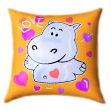 Hippo in Love Glow In The Dark Pillow