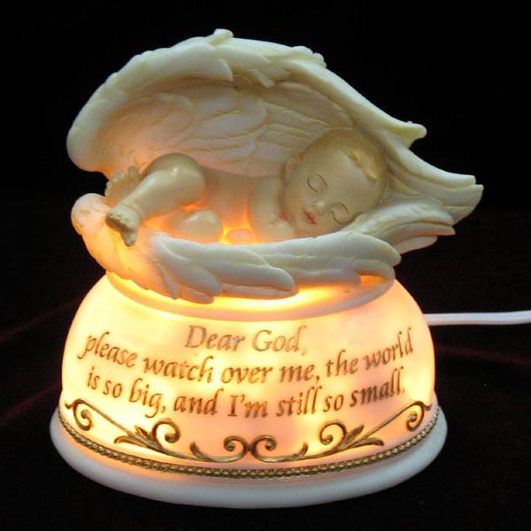 Dear God please watch over me Nightlight