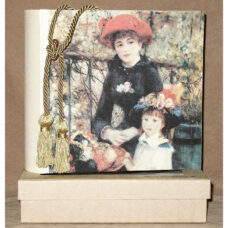 Mom and Daughter by Renoir Photo Album