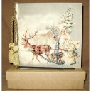 Santa Delivery Terra Traditions Photo Album