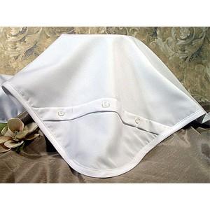 Gabardine Baptism Blanket