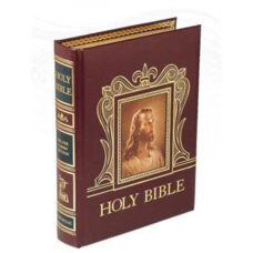 Deluxe Parish Edition Bible -Burgundy cover