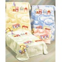Baby Blanket Choo Choo Train - Children Blankets Ontario