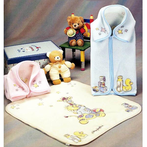 Fetexsa Childrens Bedding Mink Baby Sac Blanket Playtime