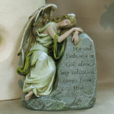 My Soul Finds Rest Sympathy Statue