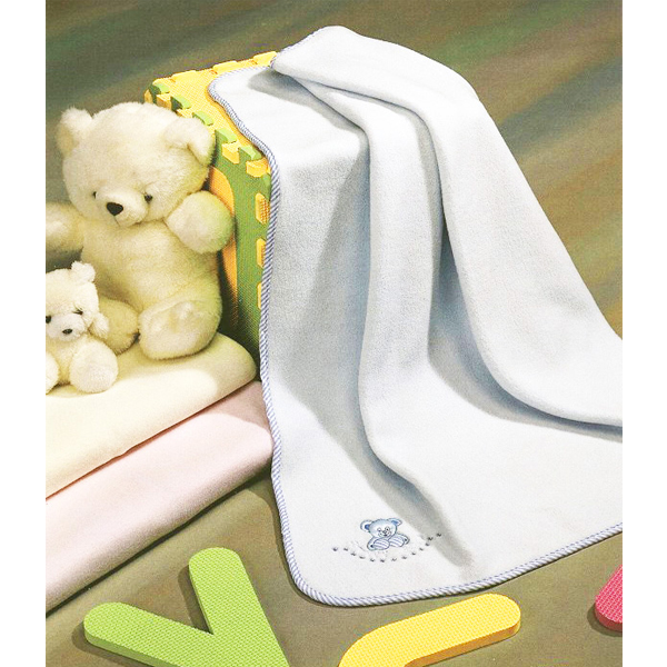 Fetexsa Childrens Bedding Baby Blanket Happy Bear