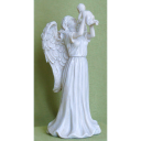 Angel Holding Baby - Statue