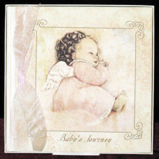Angel Baby Girl - Baby's Journey Book