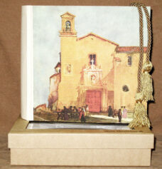Church of San Francisco Photo Album in a window gift box