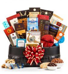 Gourmet Grandeur Gift Basket