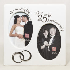 25th Anniversary Double Frame