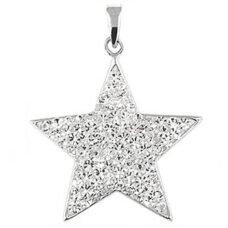 Star Pendant Sterling Silver