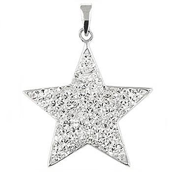 Star Pendant Sterling Silver