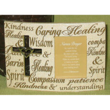 Nurses Prayer Religious Frame