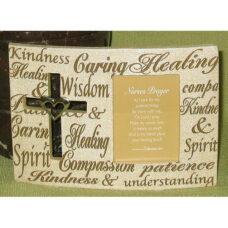 Nurses Prayer Religious Frame