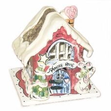 Mouse House Candle House Blue Sky