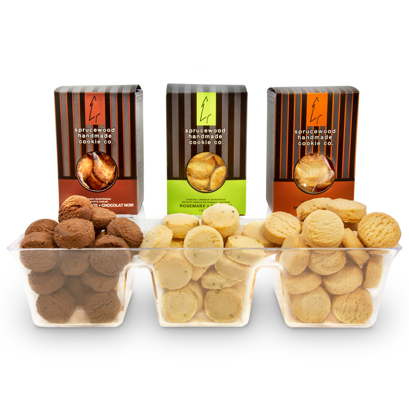 Cookie Delight Trio Nut Free - Canadian Gourmet Cookies