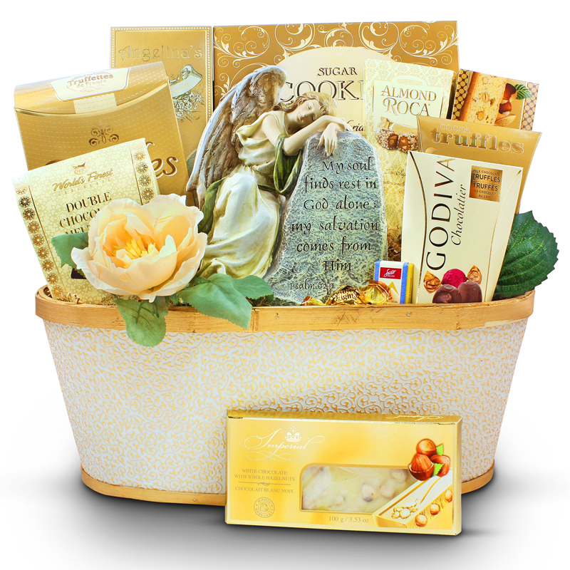 Angel from above sympathy gift basket ontariogourmet gift basket angel from above sympathy gift basket negle Gallery