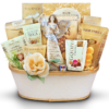 Stars in the sky - Angel figurine Sympathy gift basket