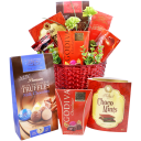 Basket of Sweets Chocolate Gift Basket
