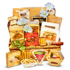 A Cut Above the Rest - Gourmet Cheese Basket Large
