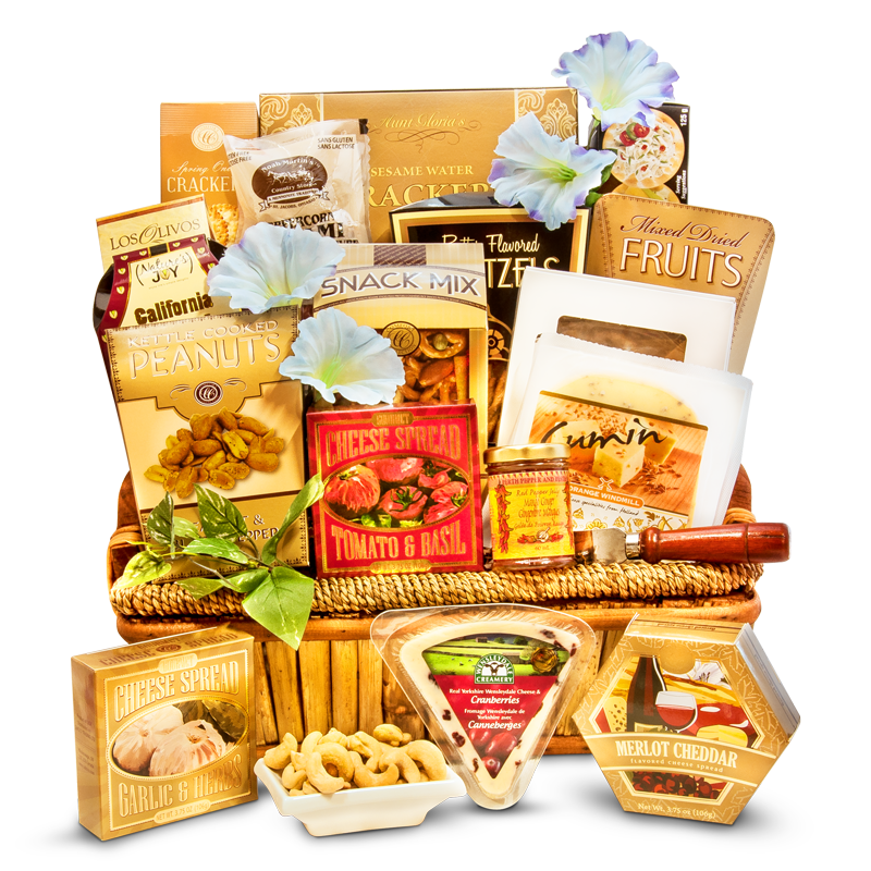gourmet cheese gift baskets