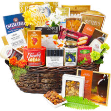 A Cut Above - Gourmet Cheese Basket Deluxe