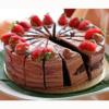 Chocolate Cream and Strawberries