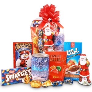 Santa Claus package for children with Instasnow