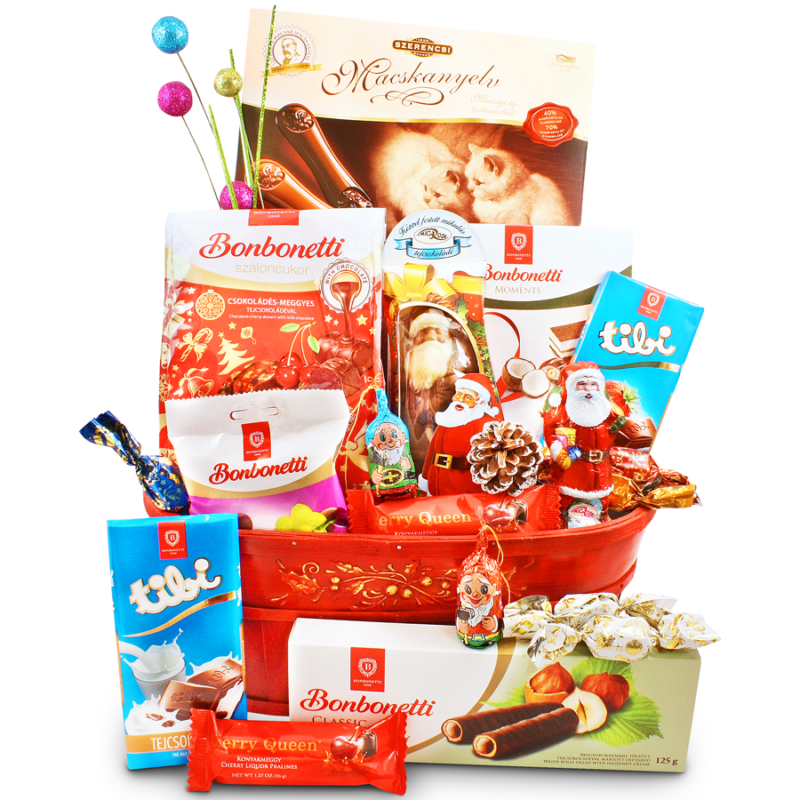 Hungarian Delight - Hungarian chocolate gift basket