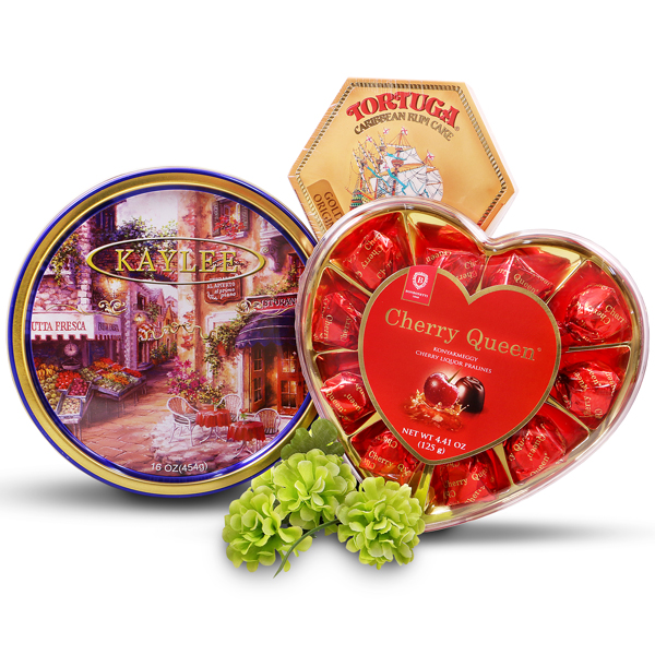 Holiday Delight Chocolates Cookies and Cake Gift