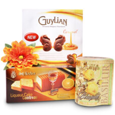 Delicate Delights Chocolates, Liquor Cake and Tea Gift